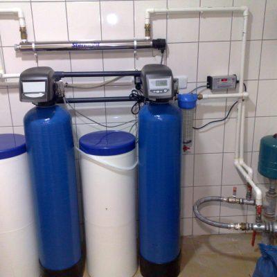 Stacja Uzdatniania wody na obiekt